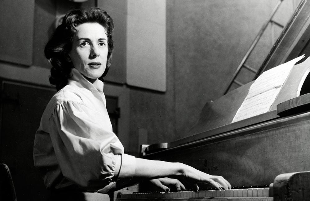 Jetty Paerl was in 1956 de eerste deelnemer aan de 'Grand Prix van het Europese lied, zoals het evenement toen nog heette. Foto: ANP