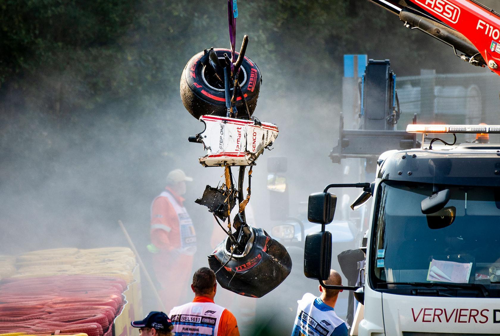 Autowrak Juan Correa Formule 2