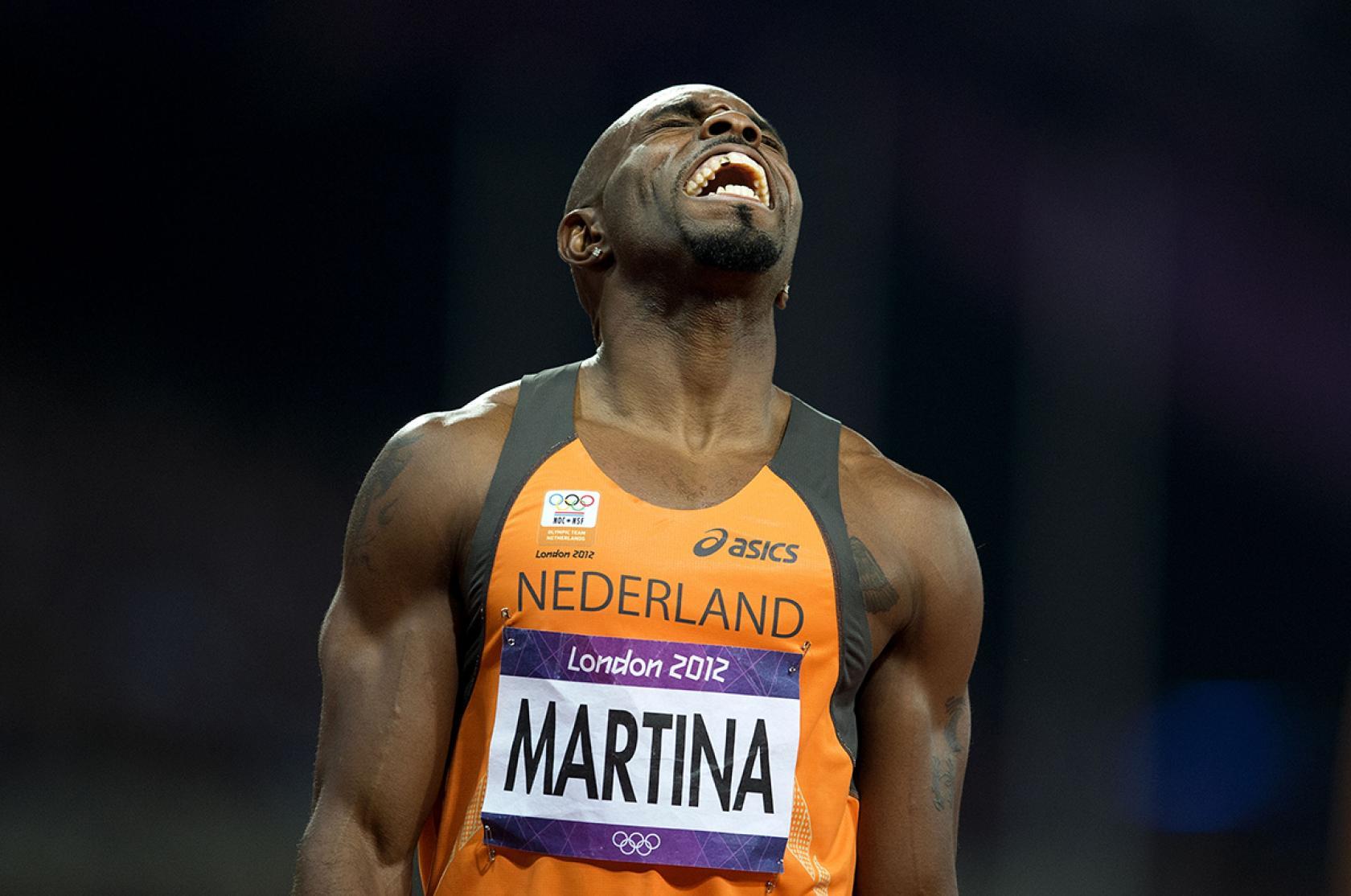 Churandy Martina Olympische Spelen Londen