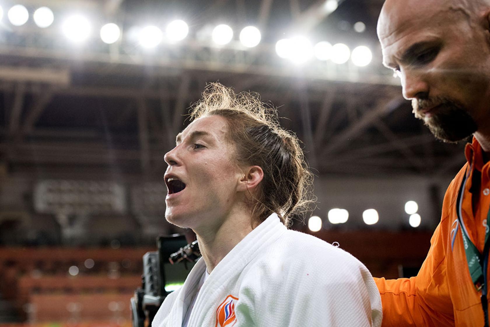 Marhinde Verkerk Olympische Spelen Rio Judo