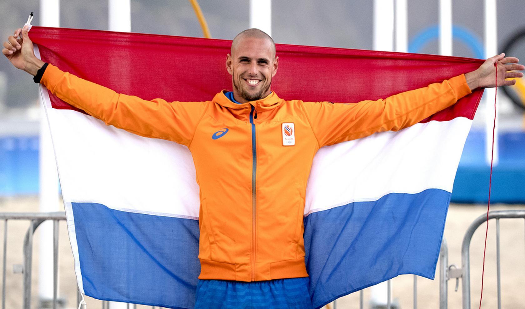 Dorian van Rijsselberghe  windsurfen Olympische Spelen Rio