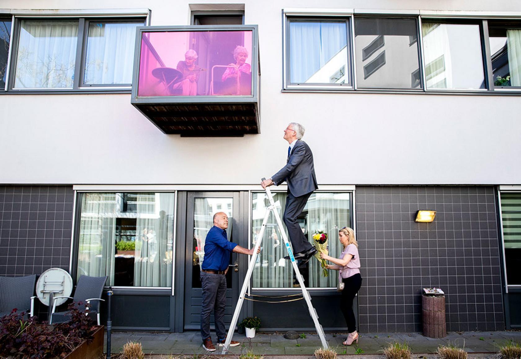 Foto Remko de Waal Burgemeester Tilburg