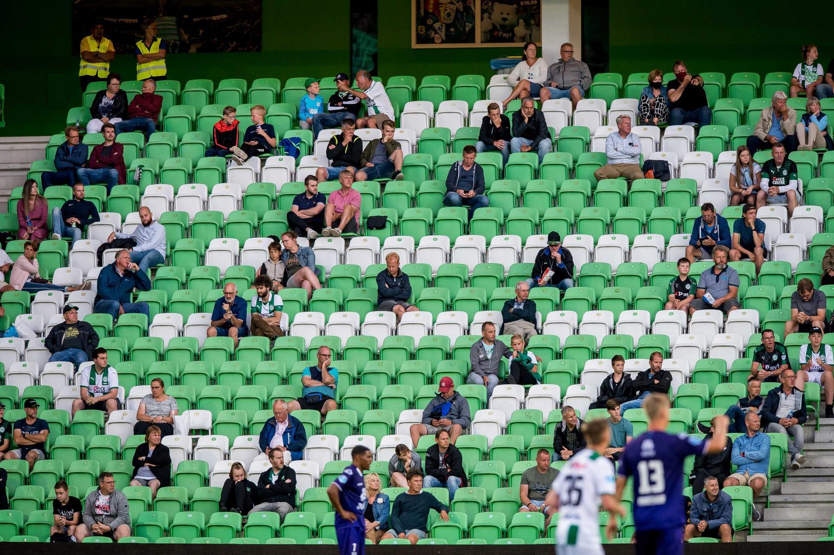 Supporters coronaproof