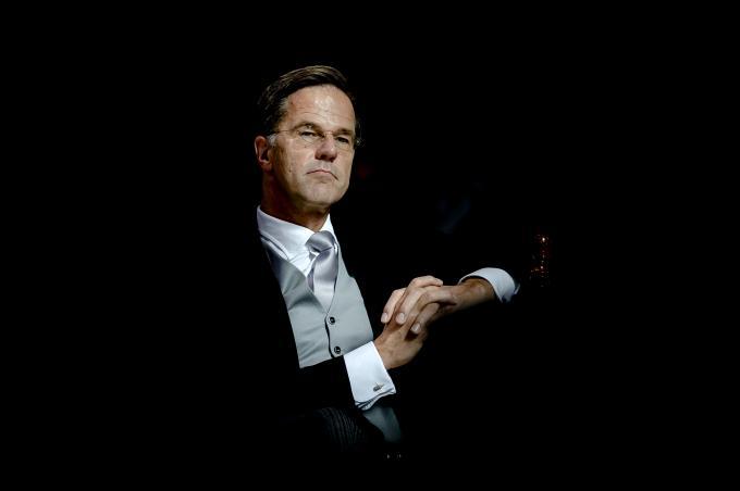 Een van de tien geselecteerde foto's voor de maand september. Demissionair premier Rutte tijdens Prinsjesdag.  ANP / Robin van Lonkhuijsen