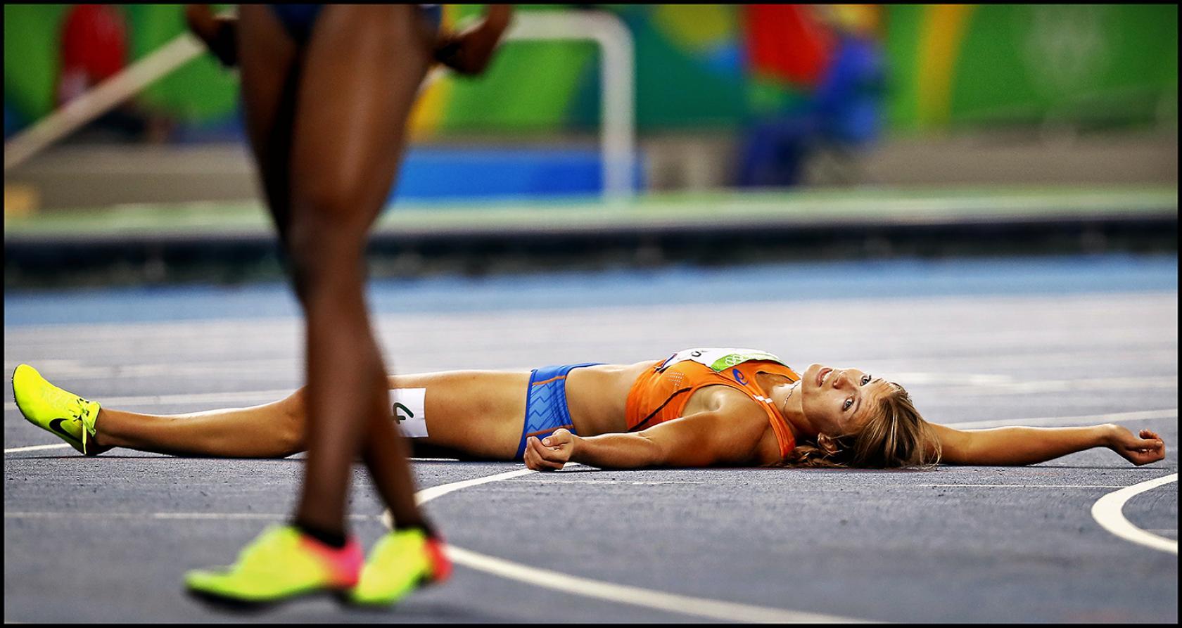 Dafne Schippers tweede 200 m Olympische Spelen Rio