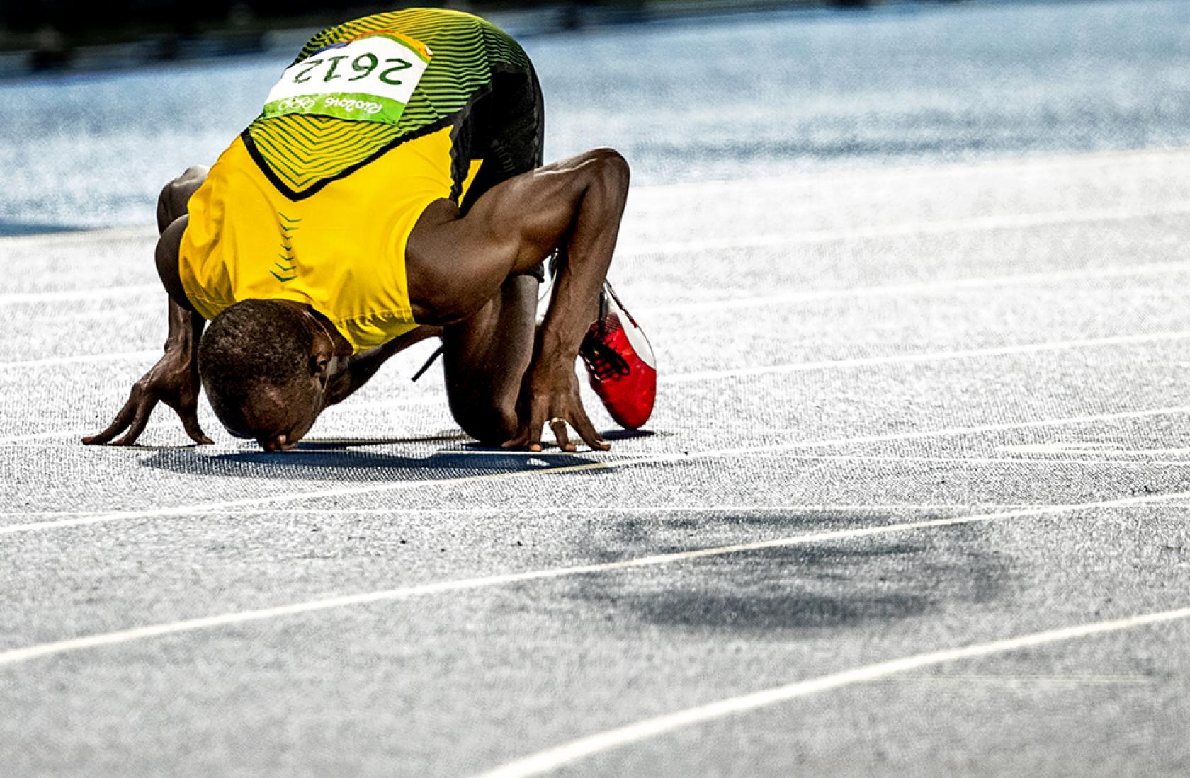 Usain Bold wint goud Olympische Spelen Rio