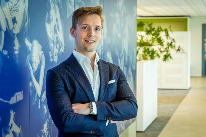Financieel directeur Gert-Jan Strik in het ANP-kantoor. Foto: ANP / Lex van Lieshout