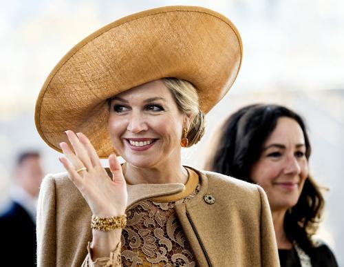 Koningin Máxima is de meest gezochte persoon in de beeldbank van ANP-Hollandse Hoogte. Foto: Koen van Weel