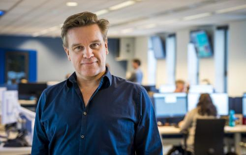 Martijn Bennis, CEO van het ANP. Foto: Lex van Lieshout
