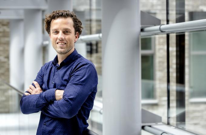 Online marketeer Niels Bersma. Foto: Sem van der Wal