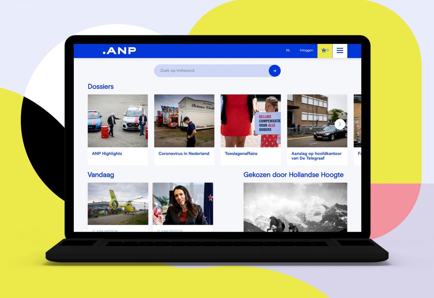 Nieuwe website anpfoto.nl