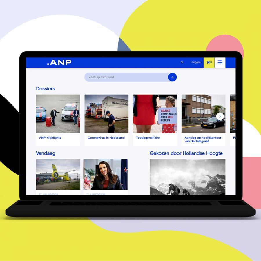 anpfoto hollandse hoogte nieuwe website