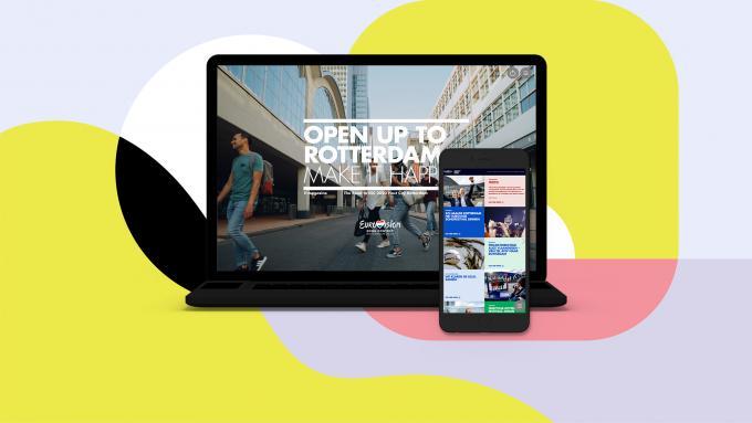 Open up to Rotterdam: een e-magazine over de weg naar het Songfestival.